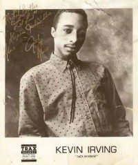 Kevin Irving -Jack in House- Trax Records