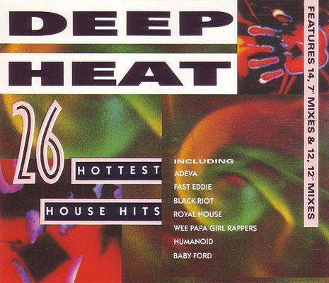 Deep heat vol 1 11 89 91 telstar the house sound of for Deep house covers