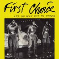 First Coice-Let no Man put us under_Cover front