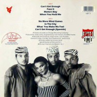 Liz Torres ft Master C+J-Can't get enough-Cover back LP