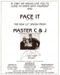 Master C&J ft Liz Torres-Face it_Dance Music Ad-Jan 1987