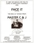 Master C&J ft Liz Torres-Face it_Dance Music Ad-Jan 1987