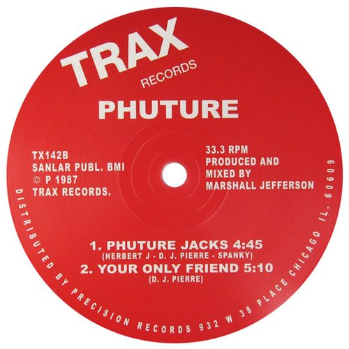 The p files of dj pierre phuture pfantasy phortune for Acid house tracks